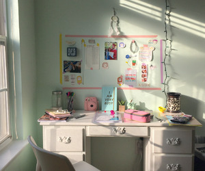 room, study, and inspiration image