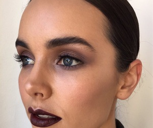 dark, lipstick, and makeup image