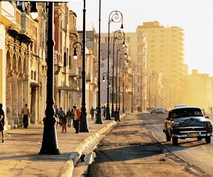 cuba, city, and car image