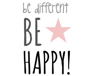 different, happy, and star image