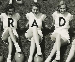 rad, vintage, and black and white image