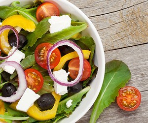 meal planner, salad recipes, and easy quick recipes image