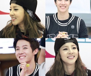 2ne1, ygfamily, and sandarapark image