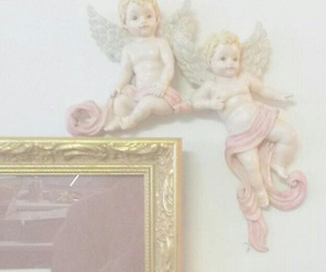 angel, aesthetic, and pink image