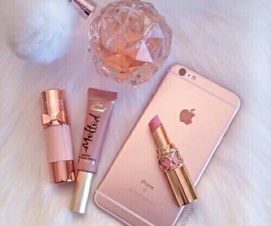 girly, iphone, and makeup image