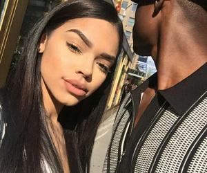 couple, goals, and makeup image