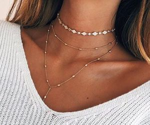 girl, jewelry, and summer image