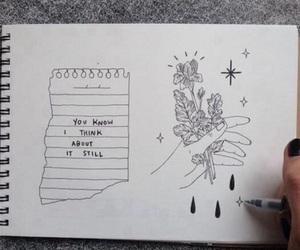 drawing, art, and grunge image