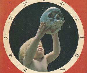 child and skull image