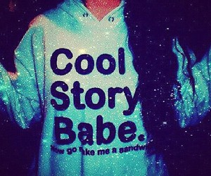 cool, babe, and blue image