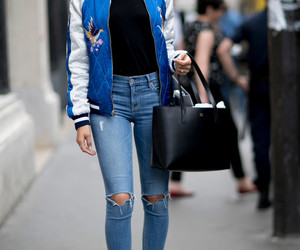 beauty, jacket, and shanina shaik image