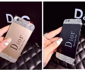 dior, iphone, and coque image