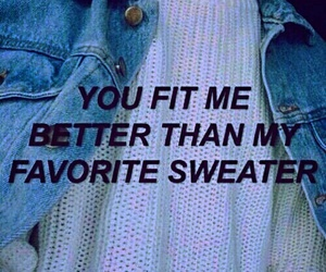 quotes, sweater, and grunge image