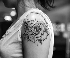 tattoo and rose image