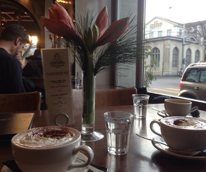old friends, zurich, and hot ​chocolate image