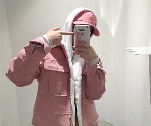fashion, korean, and pink image