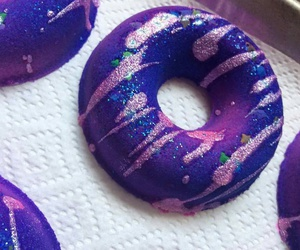 bath bombs, blue, and donuts image