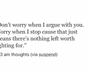 argue, fight, and worry image