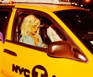 rihanna, taxi, and riri image