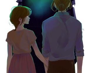 couple, manga, and manga boy image