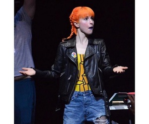 bands, hair, and hayley williams image