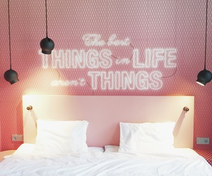 bed, beutiful, and hotel image