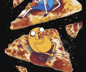 finn, jack, and pizza image