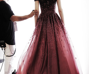backstage, Georges Hobeika, and haute couture image