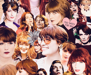 Collage and florence welch image