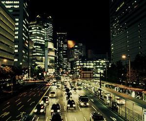 car, city, and light image