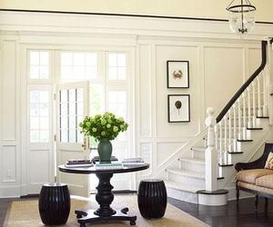 books, design, and hallway image