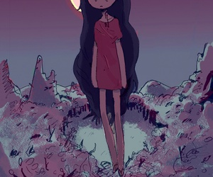 adventure time, vampire, and marceline image