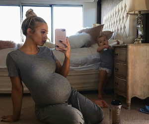 pregnant, tammy hembrow, and baby boy image