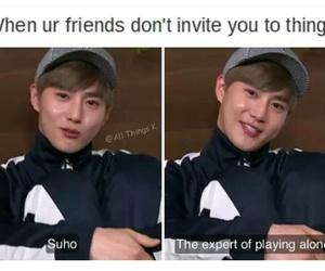 exo, memes, and kpop boys image
