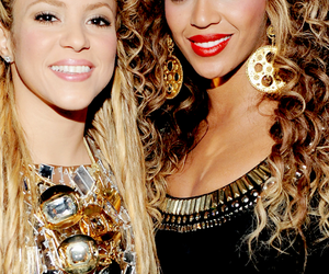 shakira, queen bey, and mrs carter image