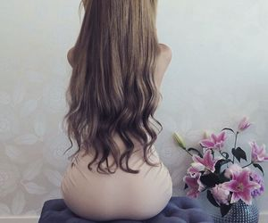 ass, beauty, and flowers image
