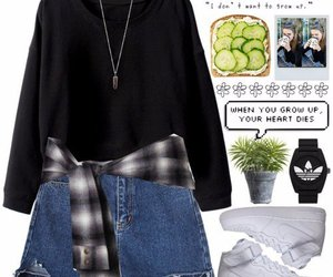fashion, Polyvore, and style image