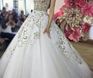 dreams, dress, and white image