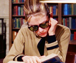 audrey hepburn, book, and Breakfast at Tiffany's image