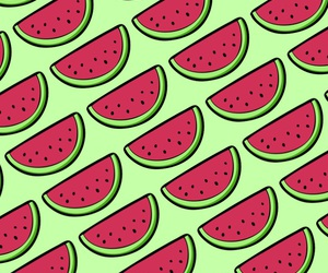 pattern, wallpaper, and watermelon image