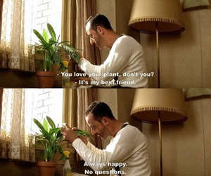 leon, plants, and quotes image