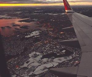 plane and sky image