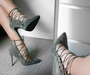 fashion, heels, and chic image