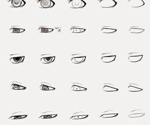 eyes, manga, and how to draw image