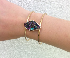 bracelet and galaxy image