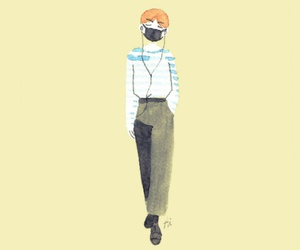 fanart, airport fashion, and bts image