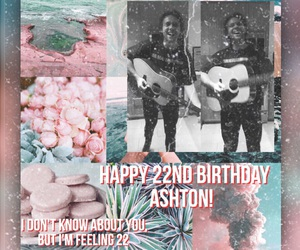 edit, pink and teal, and 5sos image