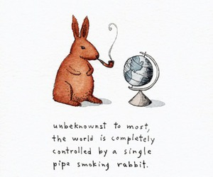 art, bunny, and funny image