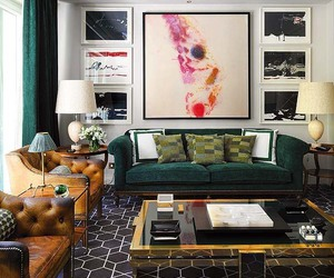living room, contemporary, and inspiration image