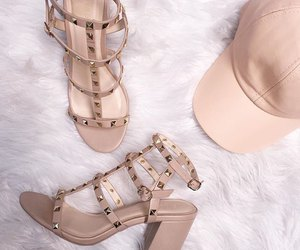 beige, chic, and girly image